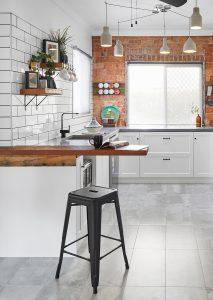 kitchen after renovation work