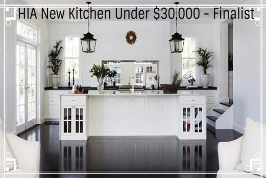 2017 HIA New Kitchen Under $30,000 – Finalist